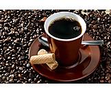 Espresso, Cookie, Coffee bean