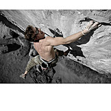 Extreme Sports, Climbing, Sport Climbing, Free Climber
