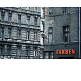 Colors, Contrasts, Dilapidated, Ailing, Gdr