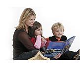 Child, Mother, Storytelling