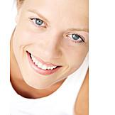 Beauty & Kosmetik, Junge Frau, Frau, Gesicht