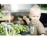Toddler, Market stall