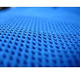 Blau, Makro, Microfaser