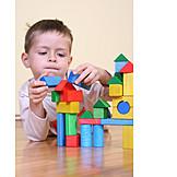 Effort & Trouble, Fun & Games, Block, Building Activity