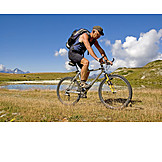 Cyclists, Mountain bike, Mountain biker