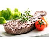 Steak, Beef, Fillet Steak