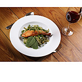 European Cuisine, Meal, Fish Dish