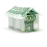 Geld, Kapitalanlage, Immobilienmarkt, Bausparvertrag, Baufinanzierung