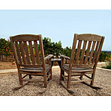 Garden, Patio, Rocking chair