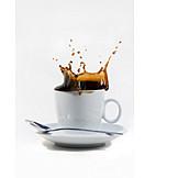Drop, Coffee, Coffee cup