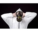Danger & Risk, Pollution, Gas Mask, Air Pollution