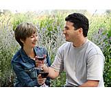 Wine, Romantic, Picnic, Toast