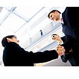 Business, Handshake, Business partnership