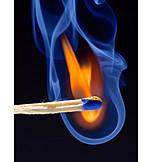 Flame, Matchstick