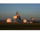 Parabolic, Radio telescope, Raisting, Radar station
