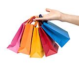 Einkauf & Shopping, Einkaufen, Einkaufstüte
