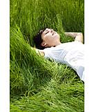 Young Woman, Woman, Enjoyment & Relaxation, Enjoy