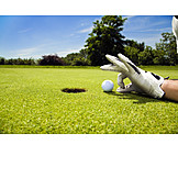 Golf, Putting, Golfing, Snapping