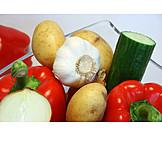 Vegetable, European Cuisine