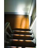 Danger & Risk, Threatening, Shadow, Stairway