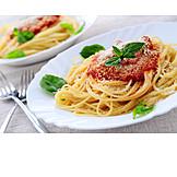 Pasta, Spaghetti bolognese