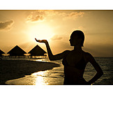 Holiday & Travel, Silhouette, Enjoy