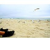 Beach, Baltic sea, Low season