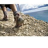Mountaineering, Hiking, Mountain tour, Hiking boots