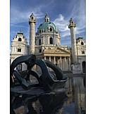 Karlskirche, Vienna, Karlsplatz