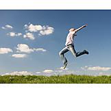 Lebensfreude, Jubel, Luftsprung