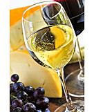 Wine, White wine, Cheese platter