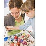 Easter, Easter egg, Painting