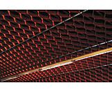 Neon light, Noise control, Ceiling