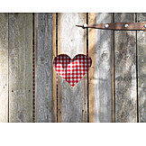 Heart, Checked, Outhouse