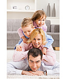 Togetherness, Domestic life, Family, Portrait
