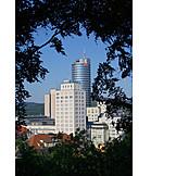 Office building, Jena, Jen tower