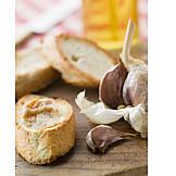 Garlic, Baguette