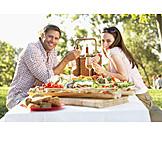 Paar, Essen & Trinken, Picknick