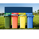 Recycling, Waste separation, Dustbin