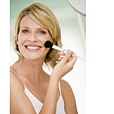 Beauty & cosmetics, Paintbrush, Makeup, Makeup, Talcum powder, Rouge