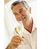 Man, Indulgence & Consumption, White Wine