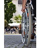 Soziales, Mobilität, Rollstuhlfahrer
