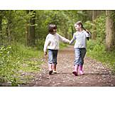 Girl, Friendship, Togetherness, 2 children, Girlfriend