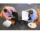 Arbeit & Beruf, Besprechung & Unterhaltung, Geschäftspartner