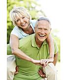 Liebe, Aktiver Senior, Partnerschaft, Ehepaar