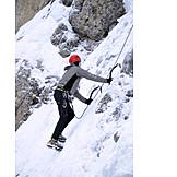 Extreme Sports, Ice Climbing, Sport Climbing