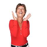 Woman, Enthusiastic, Joy