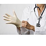 Protective Gloves, Doctor, Nurse