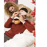 Couple, Gifts, Couple, Christmas present