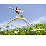 Teenager, Vitality, Carefree, Freedom